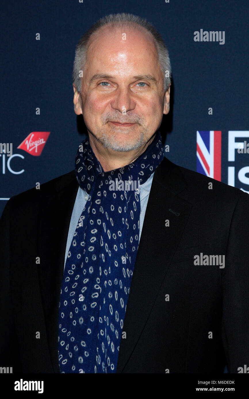 LA, California. 2nd March 2018. John Nelson attending the 'Film is Great' British Film Reception honoring - Stock Image