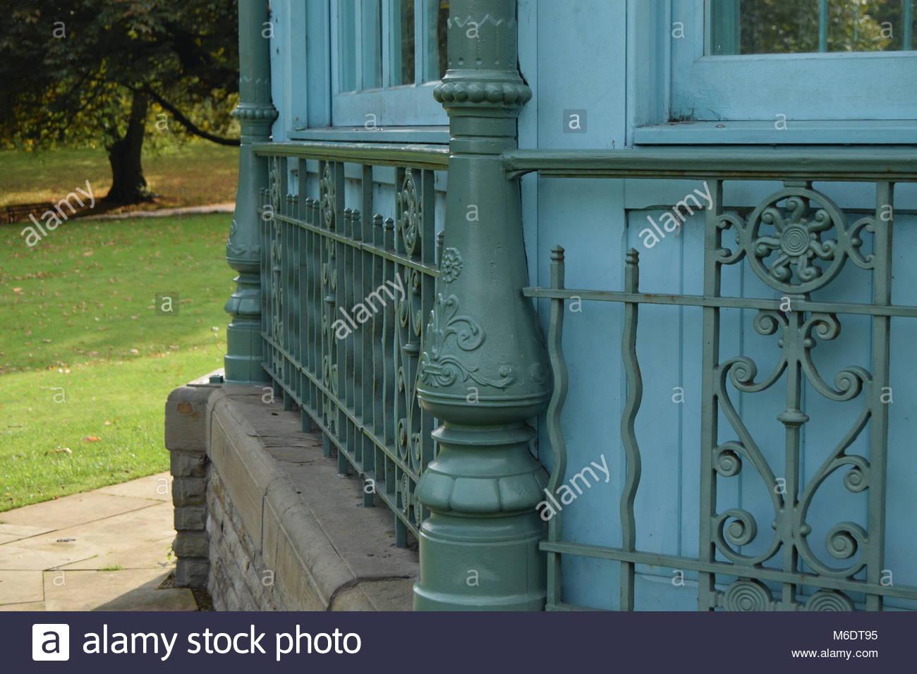 Weston park Bandstand - Stock Image
