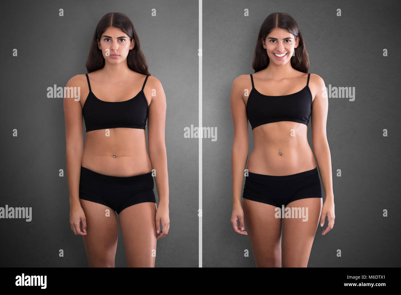 Before After Diet Stock Photos & Before After Diet Stock Images - Alamy