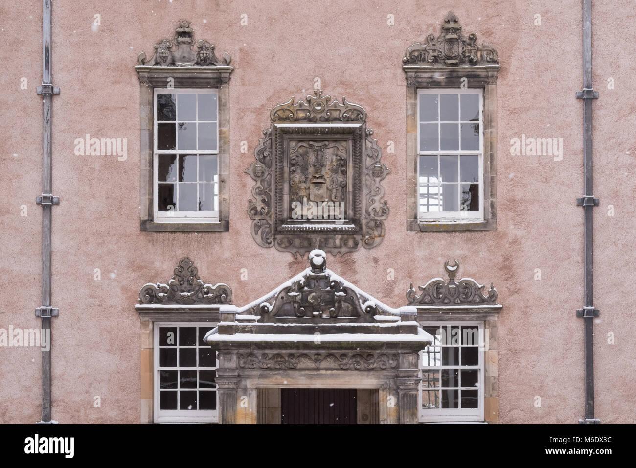 Argyll's Lodging, Stirling Old Town, Scotland, UK - Stock Image