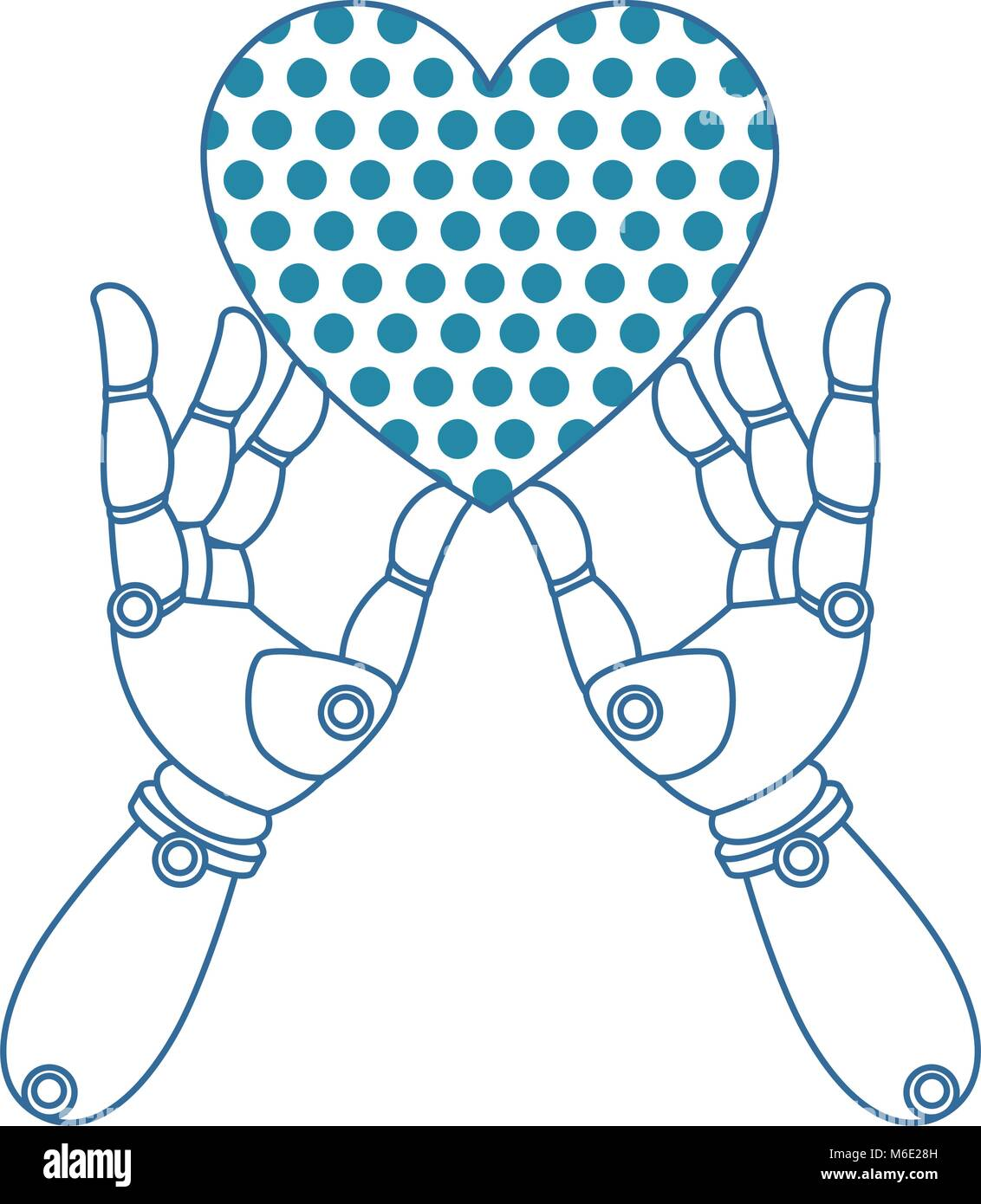 Robot Hand Heart Stock Photos & Robot Hand Heart Stock Images - Alamy