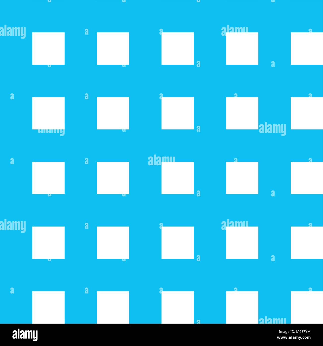 Blue Gingham Tablecloth Seamless Vector Background Pattern Design