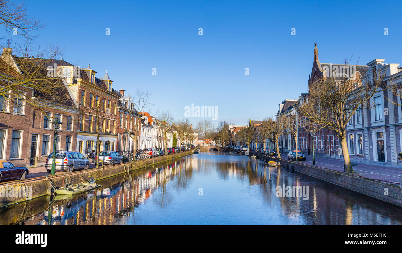 City centre of Alkmaar the Netherlands - Stock Image