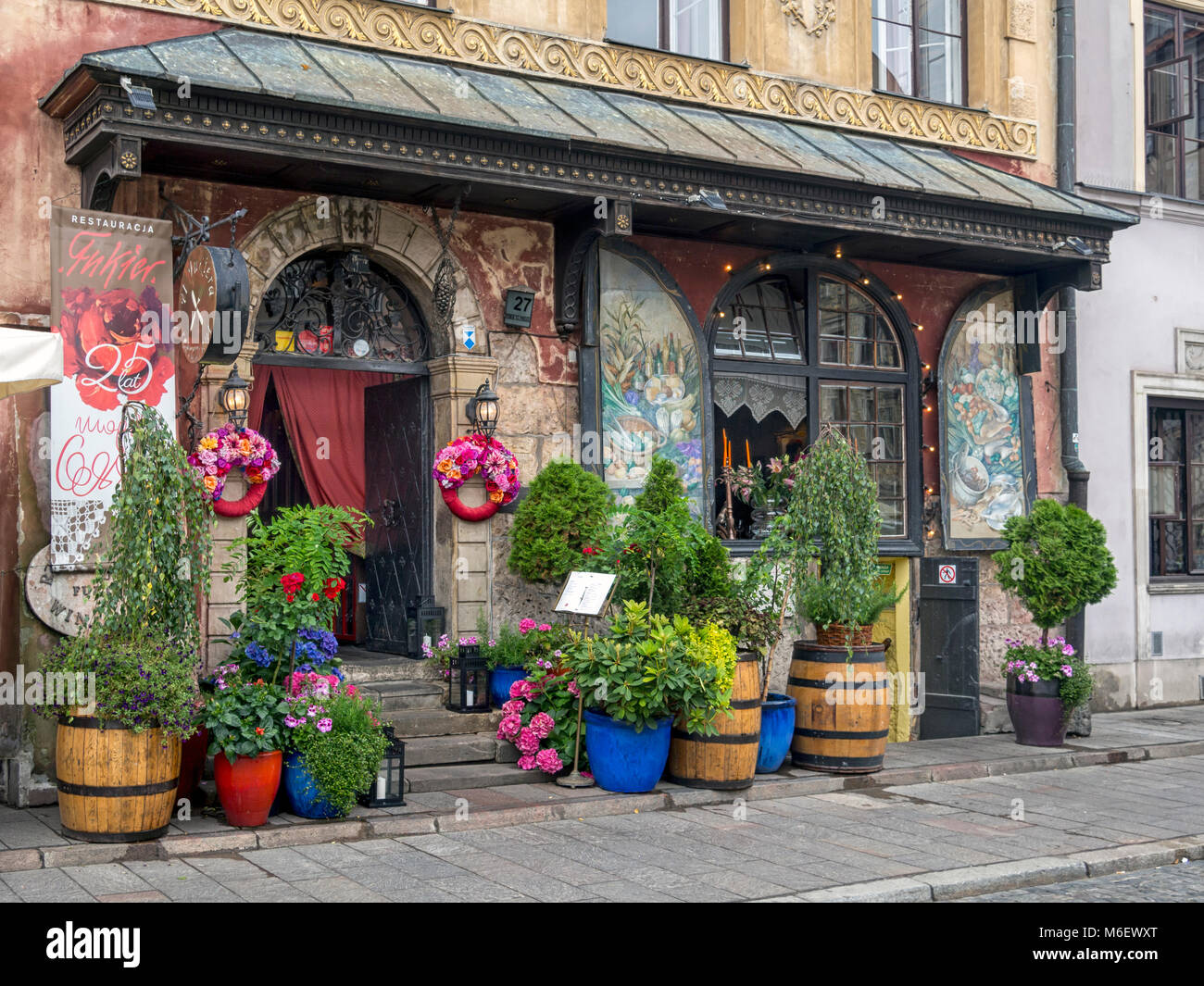 U Fukiera: WARSAW, POLAND: The Pretty U Fukiera Restaurant In The Old