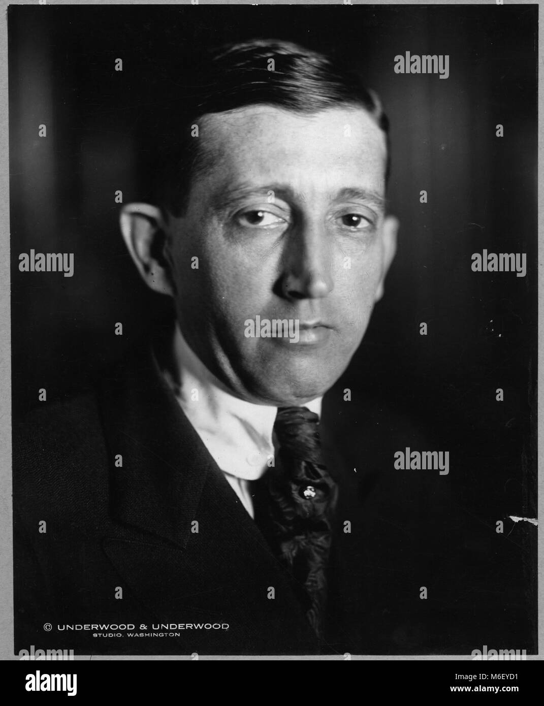 .William Harrison Hays, Sr (1879-1954), who served as U S. Postmaster General and the head of the Motion Picture - Stock Image