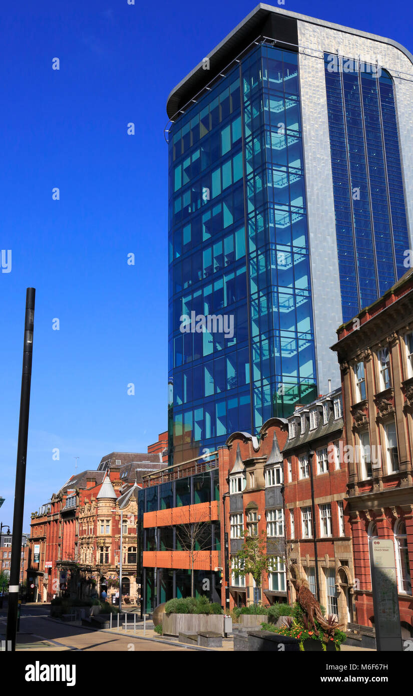Birmingham City Centre, Birmingham, West Midlands, England, Europe - Stock Image