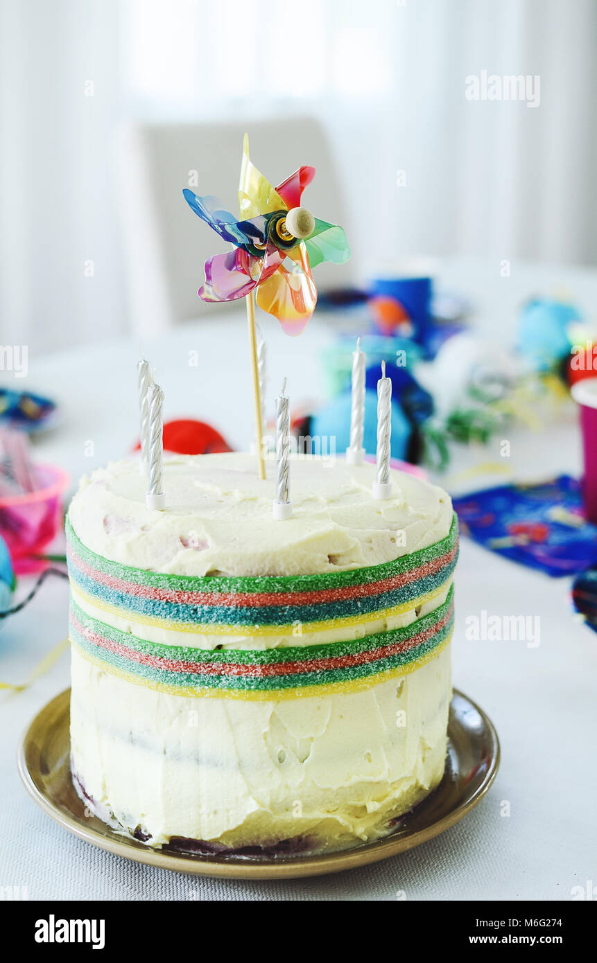 Birthday Multi color Collection Table Decorating Kit