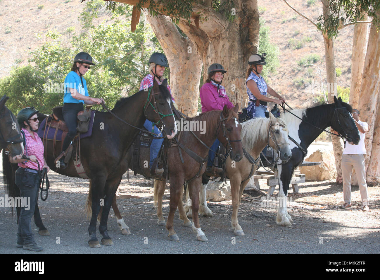 Ruth Gerson And Fellow Riders Ruth Gerson Is A Longtime Resident Of