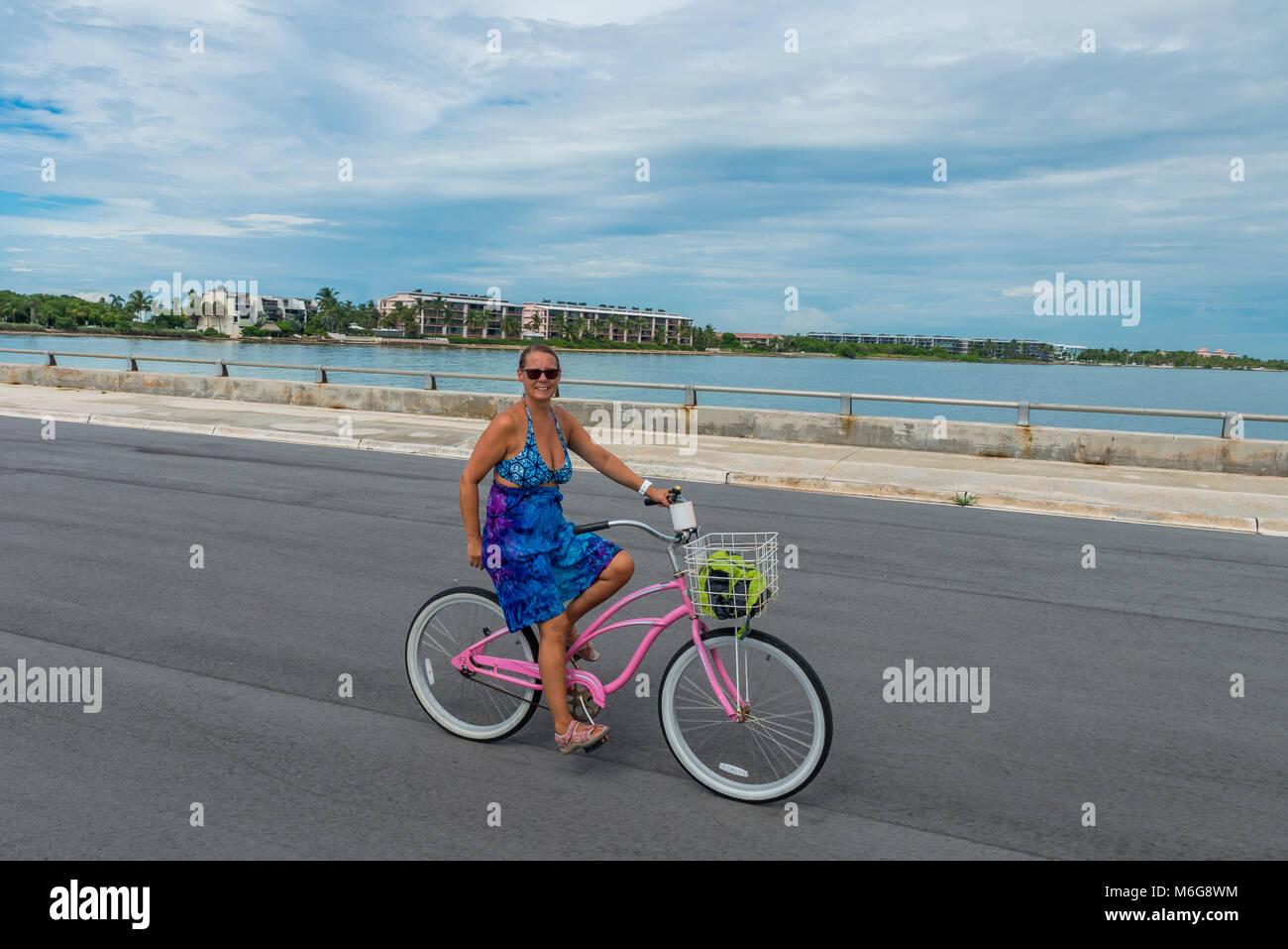 USA, Florida, Key West, solskensstaten, semester, varmt, soligt, fritid, njuta, ledighet, minnesmärken, Sunshine, Stock Photo