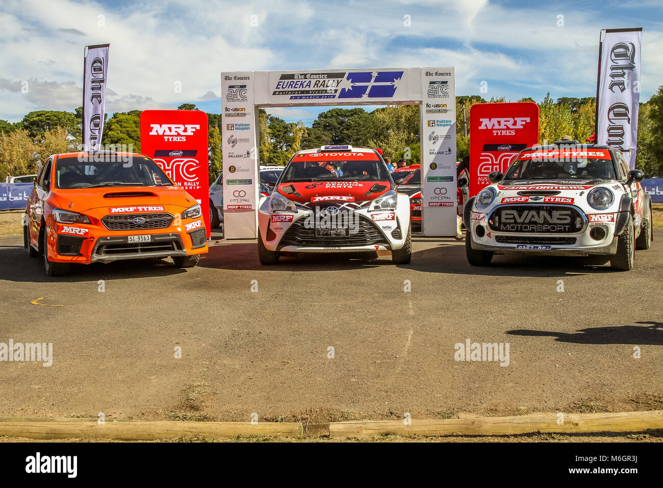 Rally Motor Credit >> Cams Australian Rally Championships Eureka Rally 2018 Podium Stock