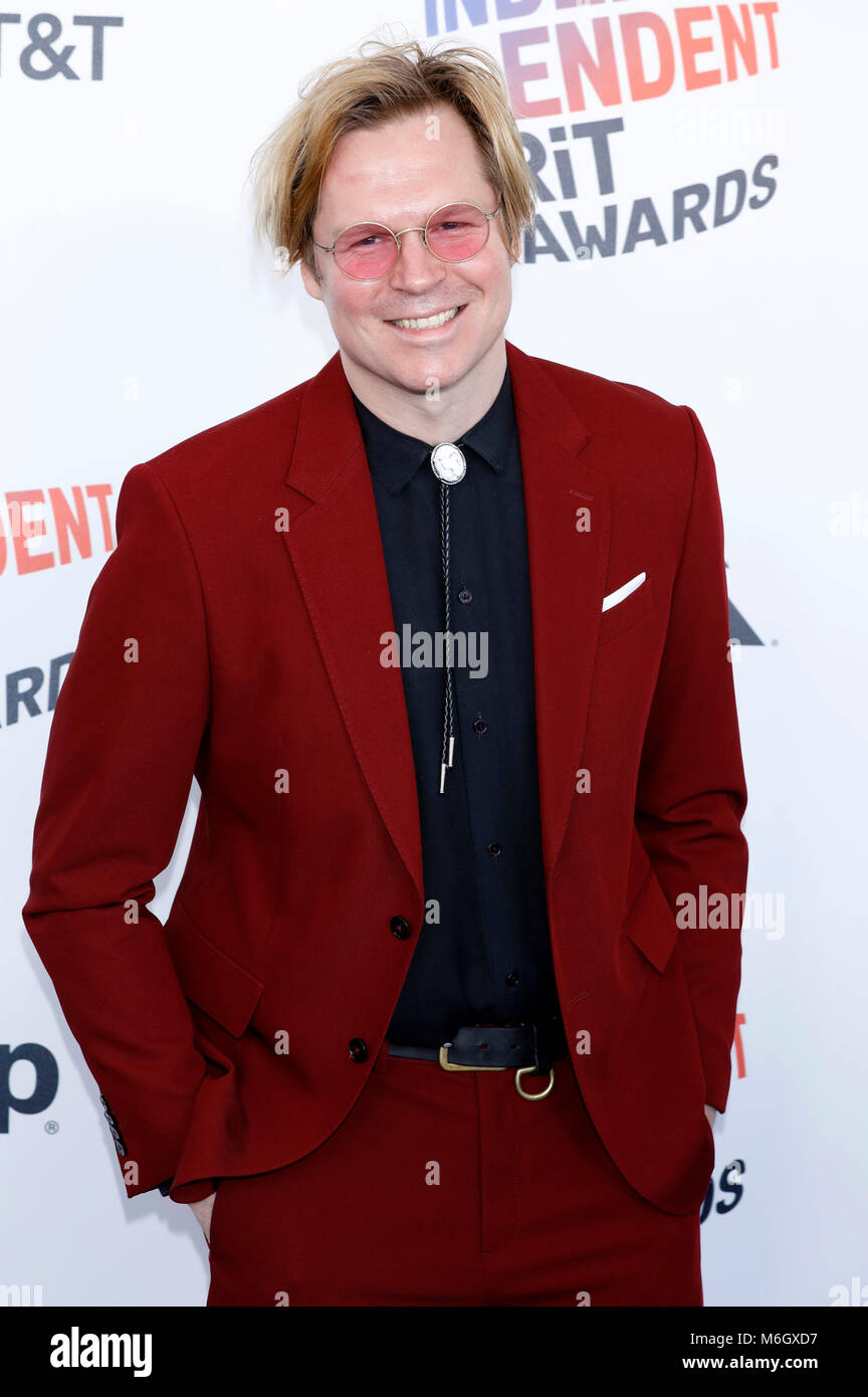 Geremy Jasper attending the 33rd annual Film Independent Spirit Awards 2018 on March 3, 2018 in Santa Monica, California. - Stock Image