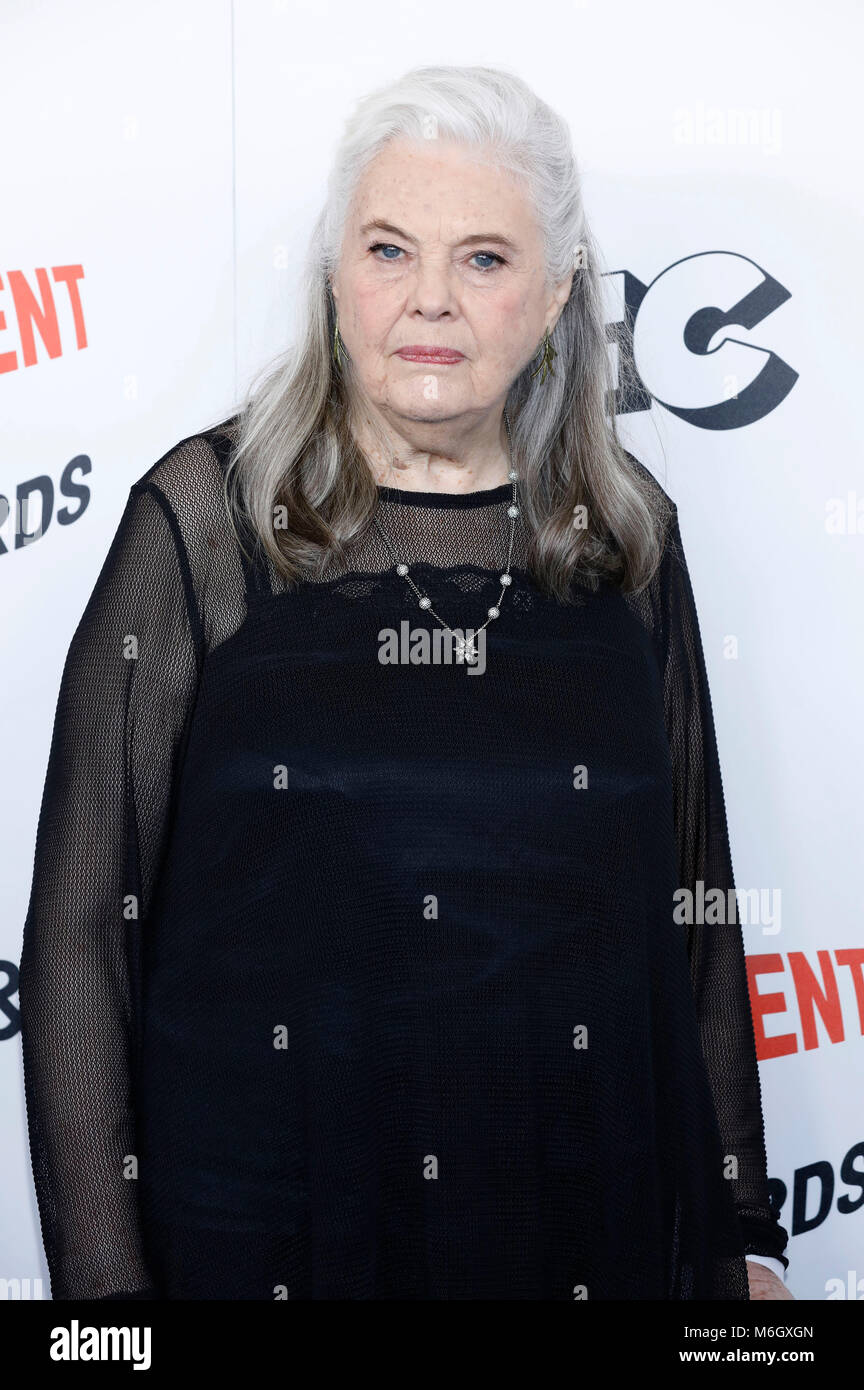 Lois Smith attending the 33rd annual Film Independent Spirit Awards 2018 on March 3, 2018 in Santa Monica, California. - Stock Image