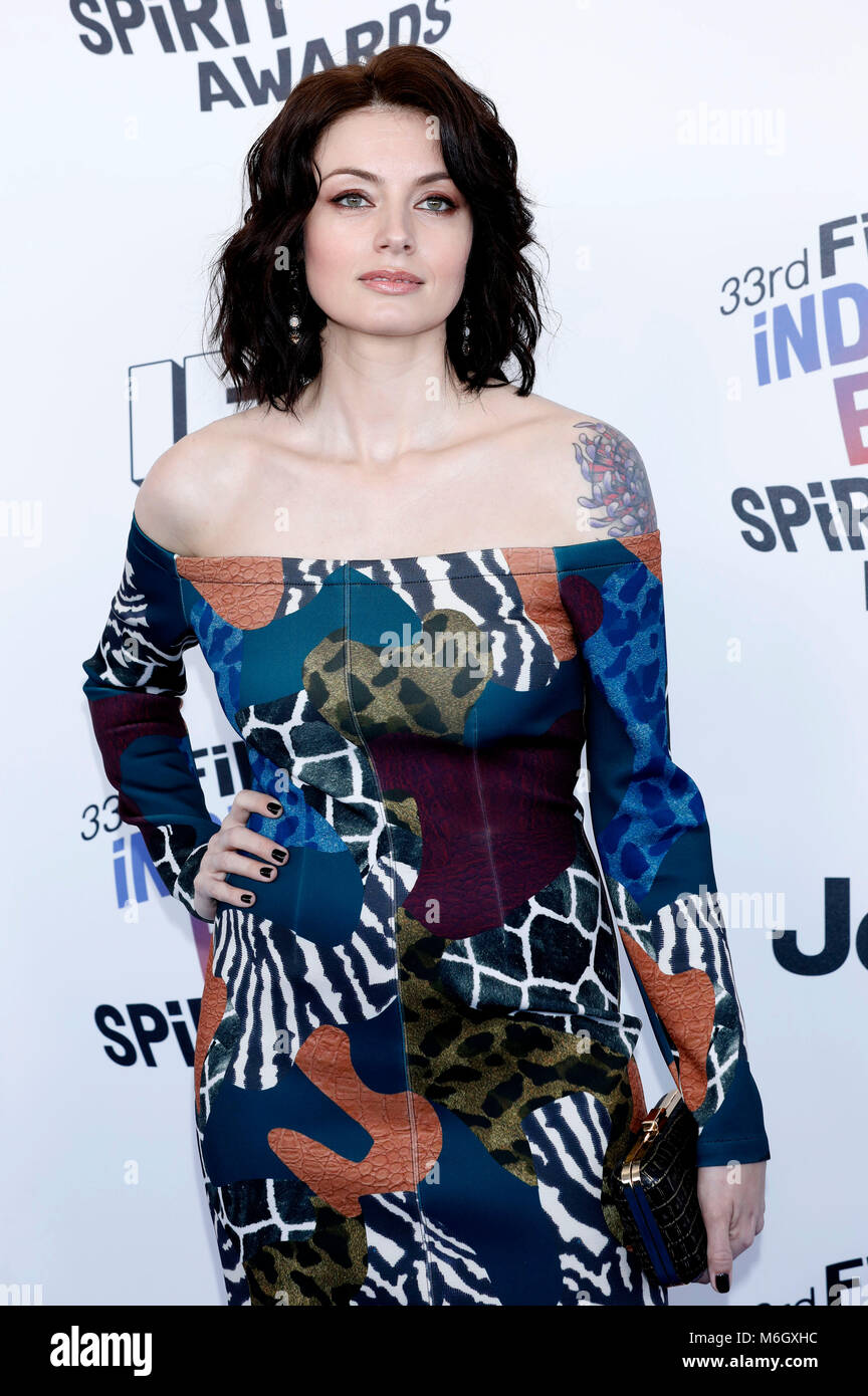 Natasha Romanova attending the 33rd annual Film Independent Spirit Awards 2018 on March 3, 2018 in Santa Monica, - Stock Image