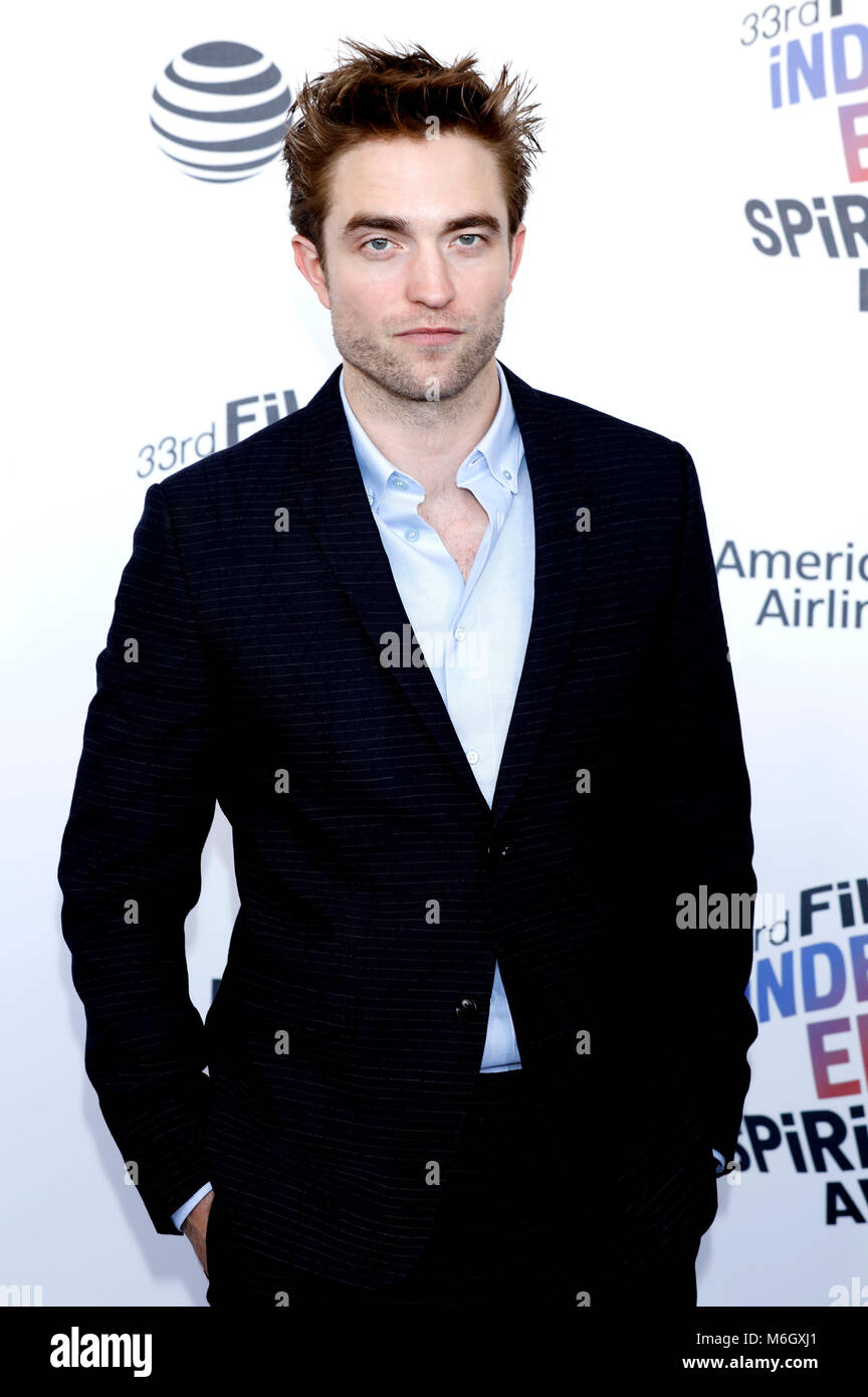 Robert Pattinson attending the 33rd annual Film Independent Spirit Awards 2018 on March 3, 2018 in Santa Monica, - Stock Image