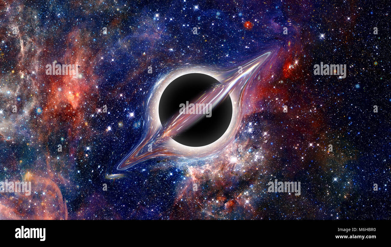 Black hole. Science fiction wallpaper. Elements of this ...