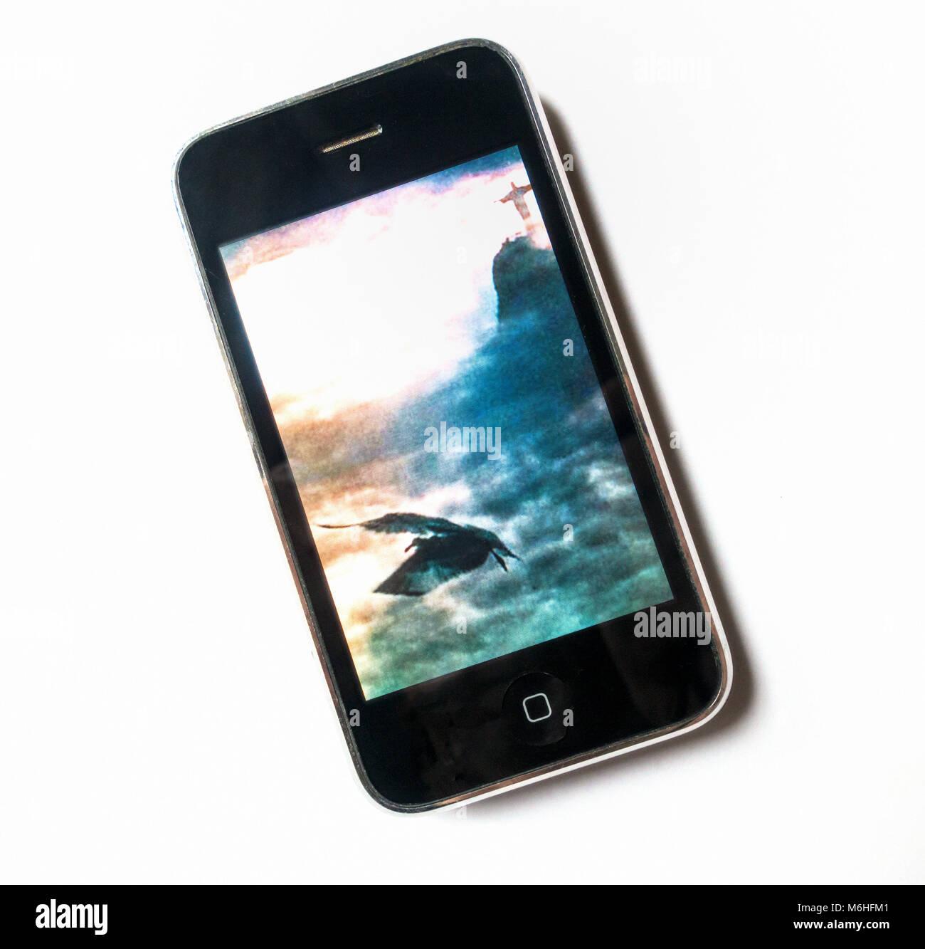 The original Apple iPhone - Stock Image