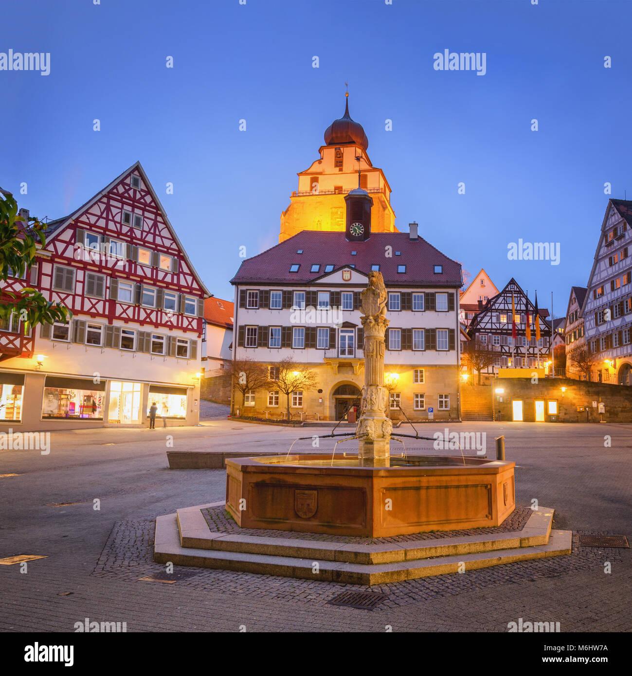 Herrenberg, Germany - Stock Image