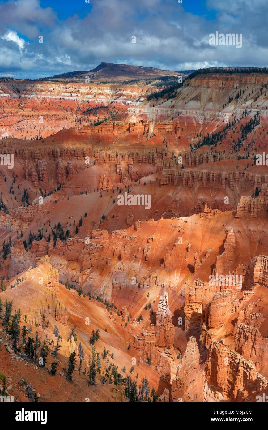 Amphitheater, Hoodoo Formations, Cedar Breaks National Monument, Utah - Stock Image
