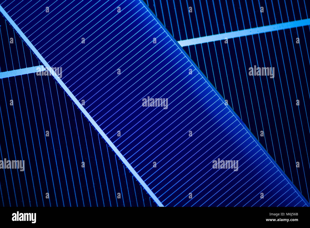 Research and production of solar cells - Stock Image
