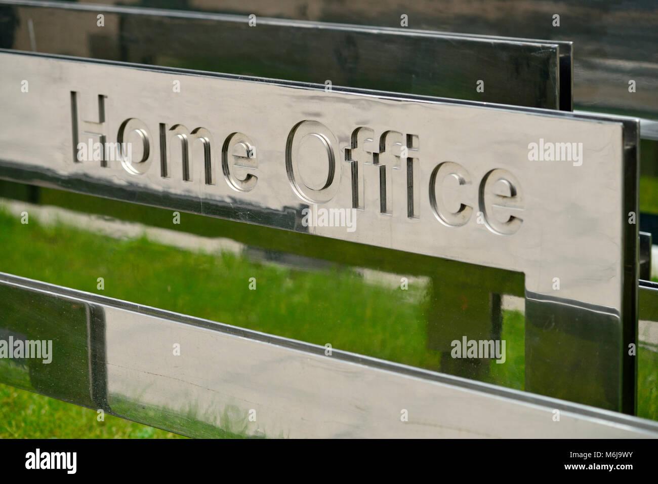 Home Office, Marsham Street, London, United Kingdom - Stock Image