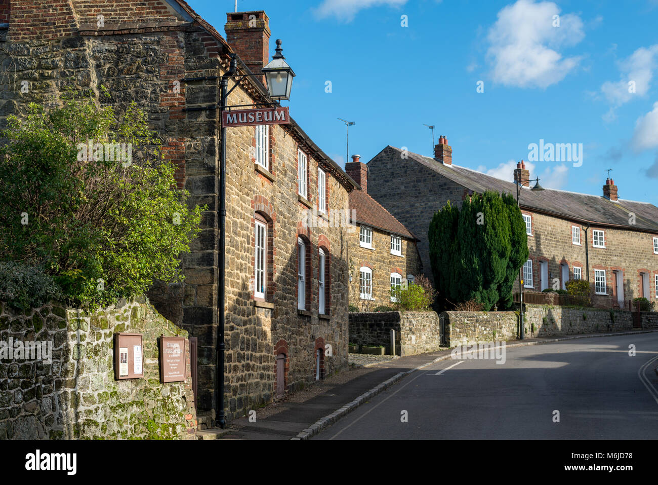 Petworth, West Sussex, England. Petworth Cottage Museum on the High Street in the town. - Stock Image