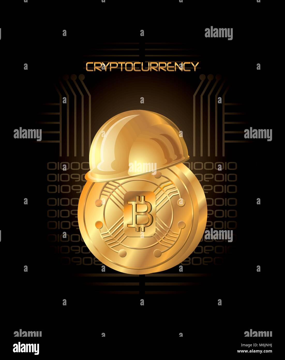 Cryptocurrency icon helmets decentralized crypto currency wallet