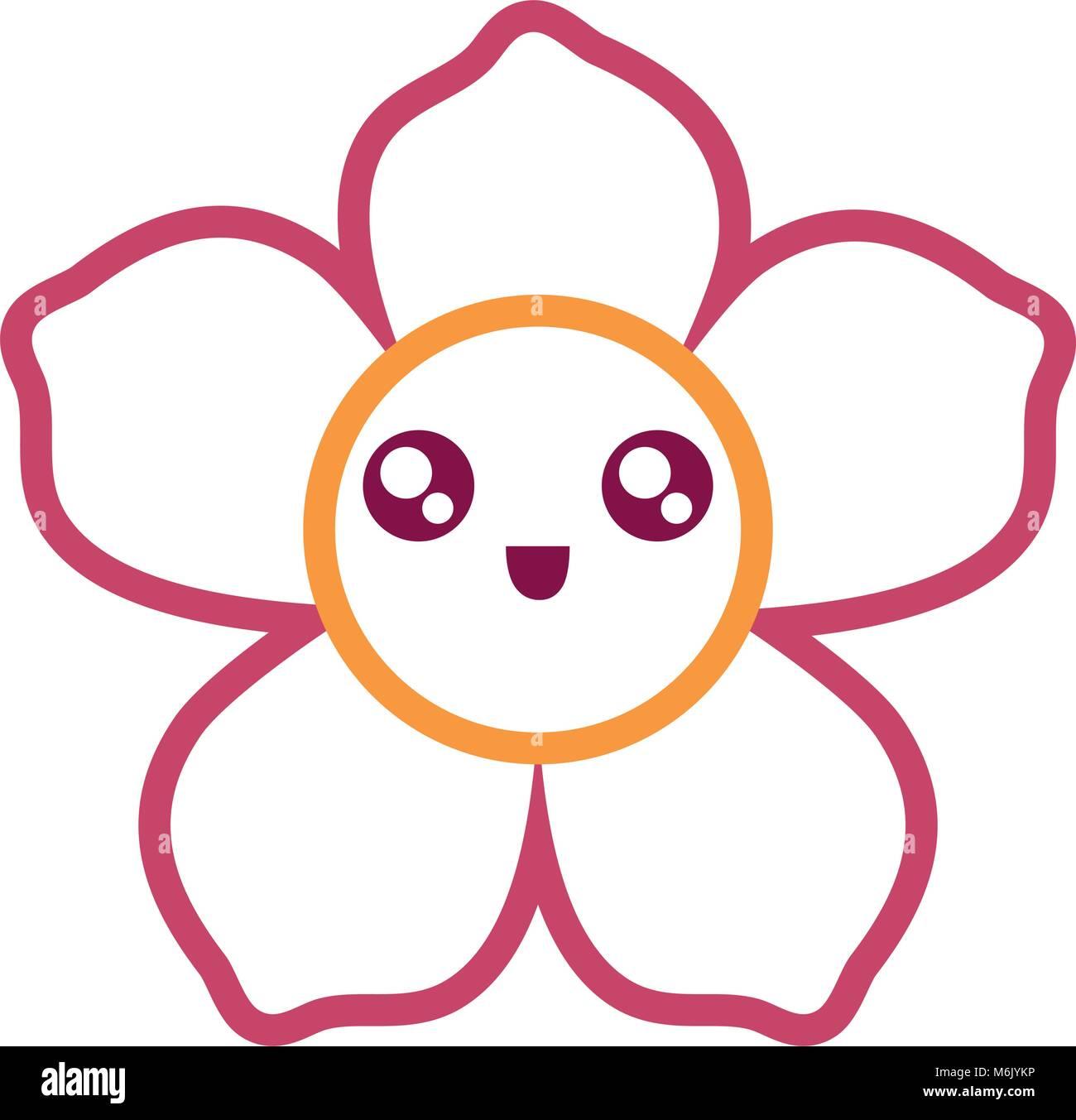 Cartoon Of Garden Flowers Stock Photos & Cartoon Of Garden