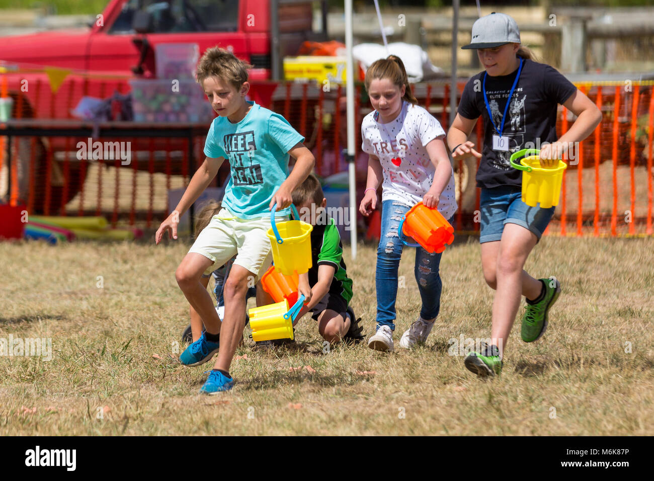 Melbourne, Australia. 04th Mar, 2018. MELBOURNE, AUSTRALIA - MARCH 4: Kids and families enjoying a day with their - Stock Image