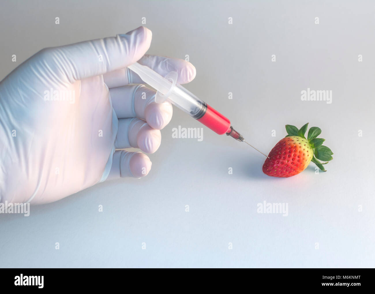 Fruits Genetic manipulation - Stock Image