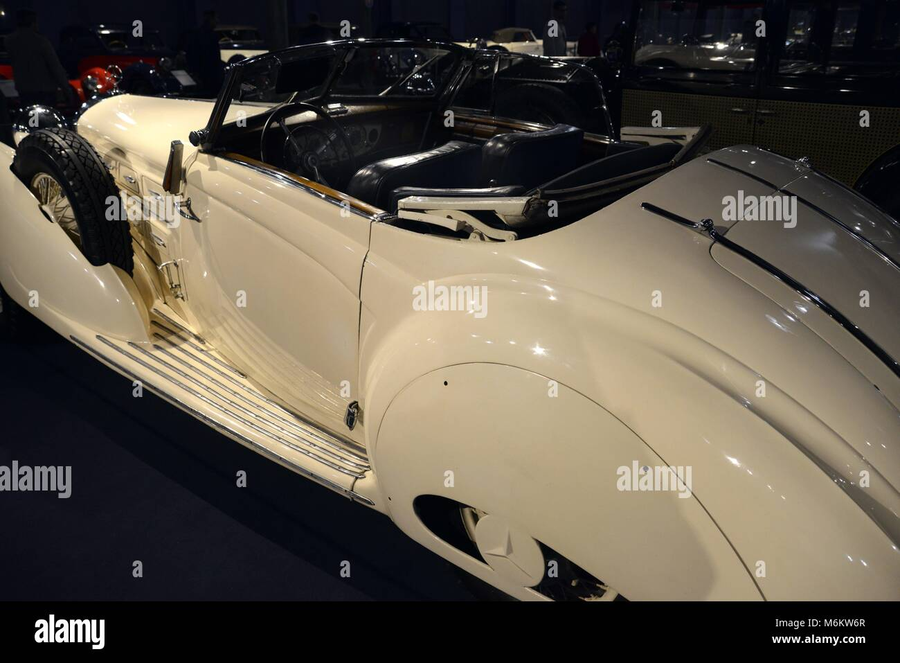 A Mercedes 540K Spezial Is Exhibited At The Car Collection Of Museum Cit De LAutomobile In Mulhouse