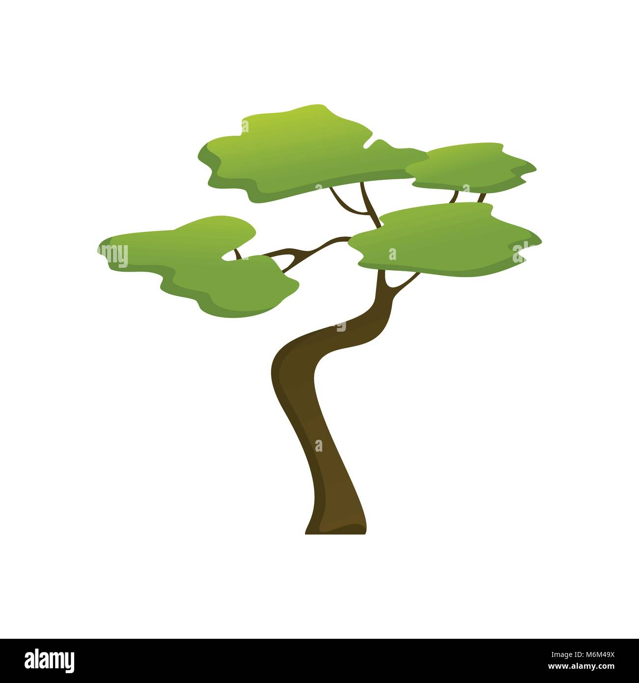 African Tree Cut Out Stock Images & Pictures - Alamy