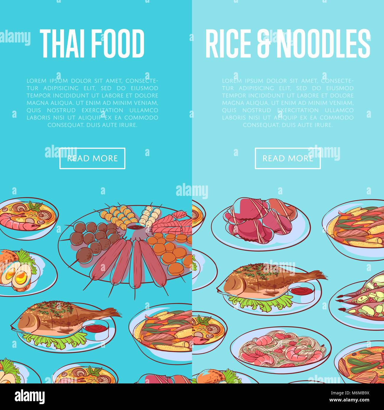 Thai Curry Stock Vector Images - Alamy