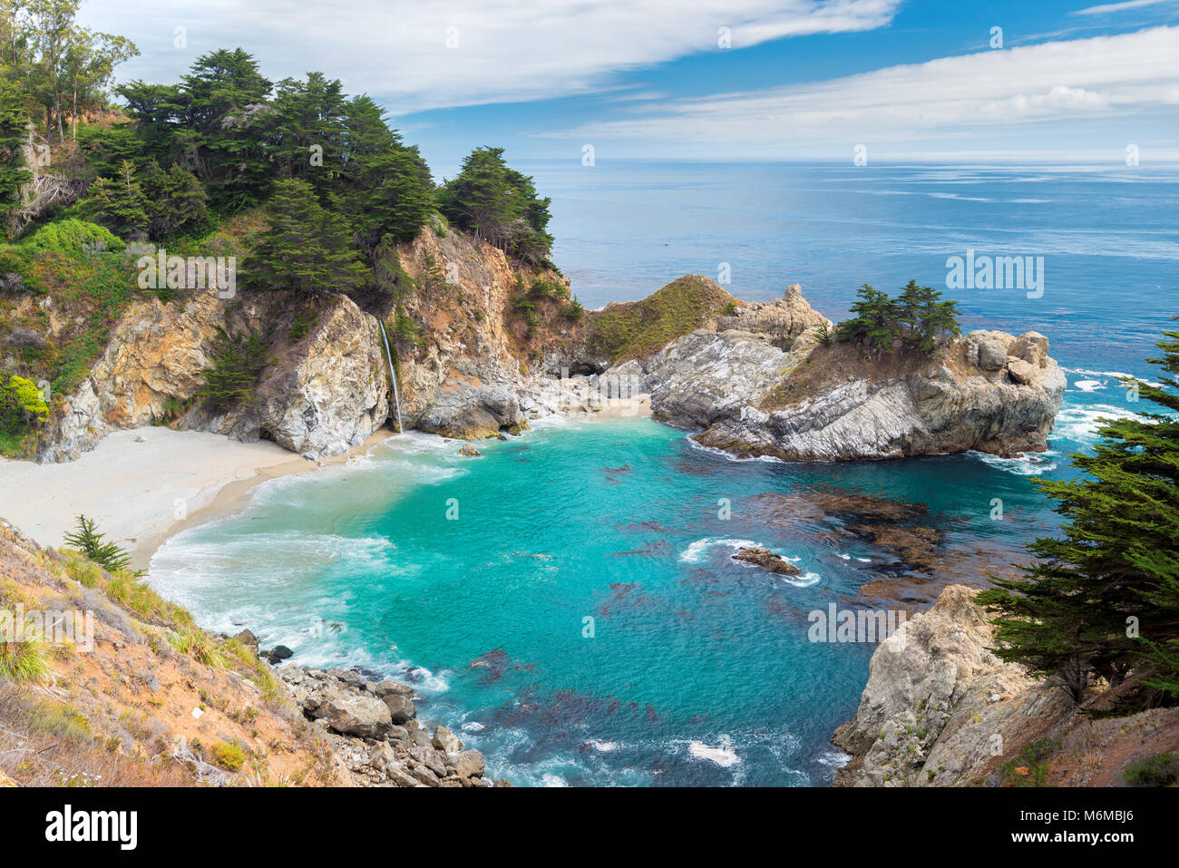 California Beach - Stock Image