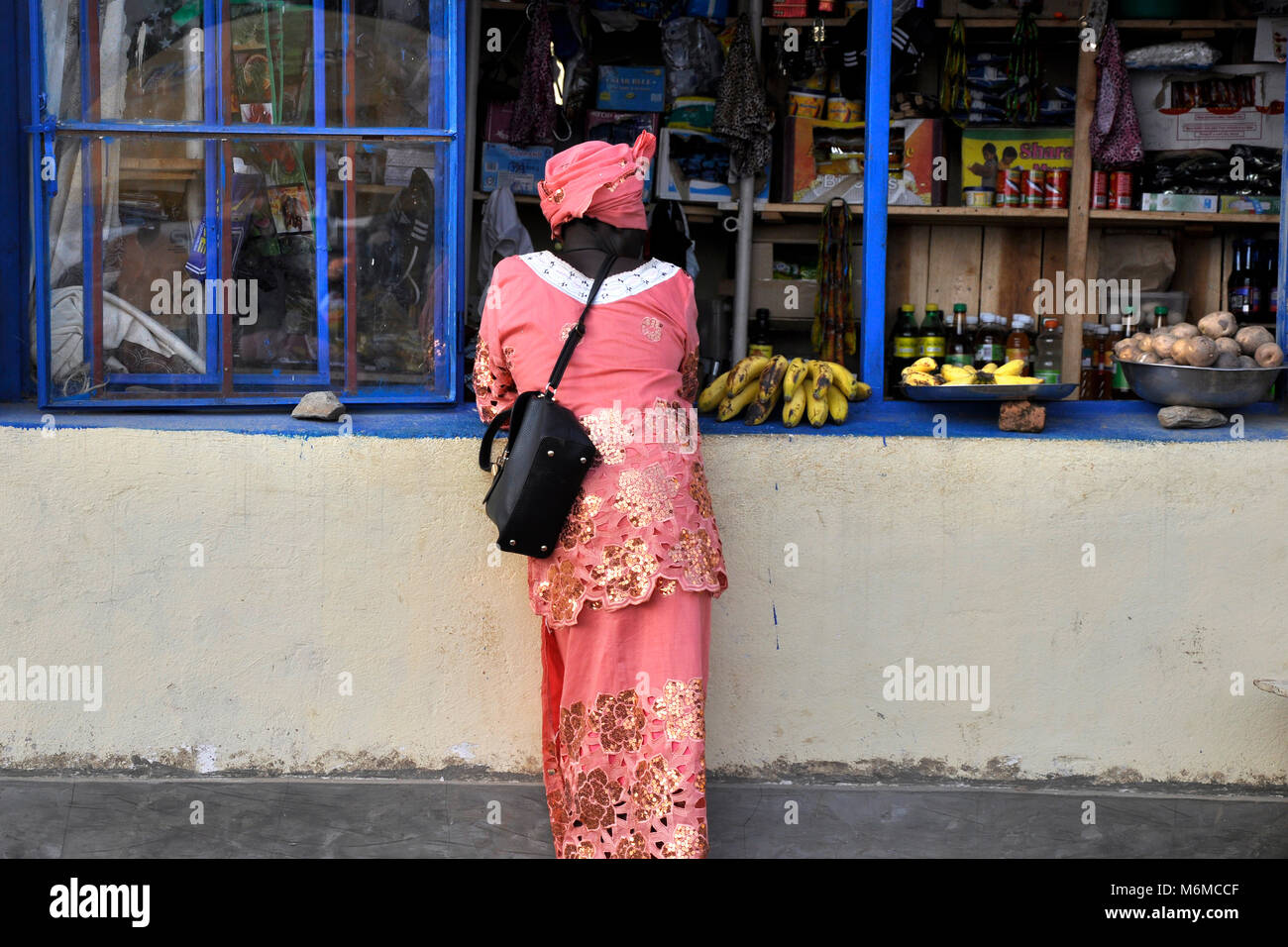 Rwanda, Gisakura Village Stock Photo