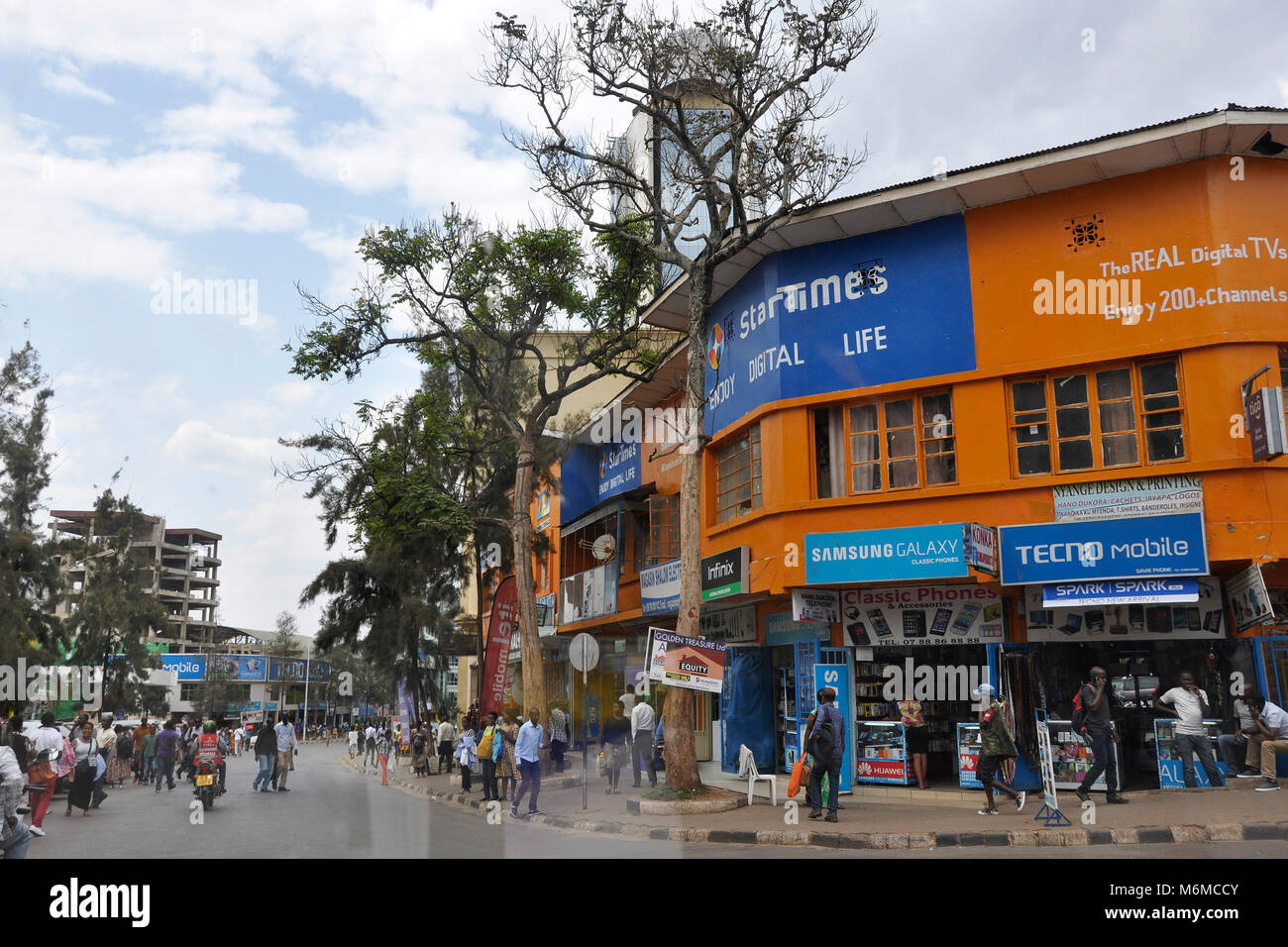Rwanda, Kigali - Stock Image