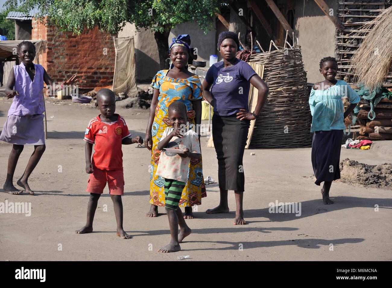 Uganda, Rift Valley, Butiada Village Stock Photo
