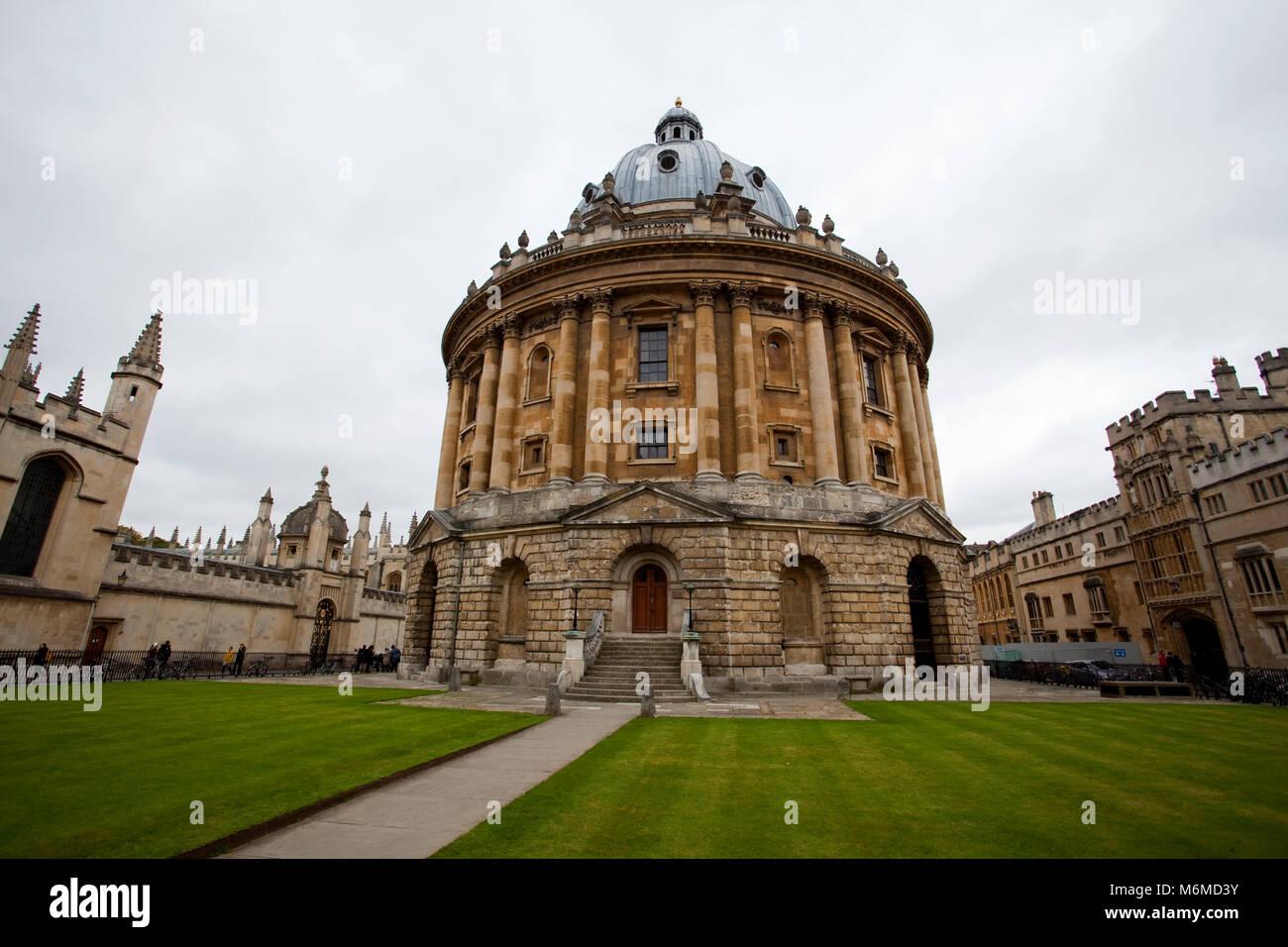 Oxford University reading room - Stock Image