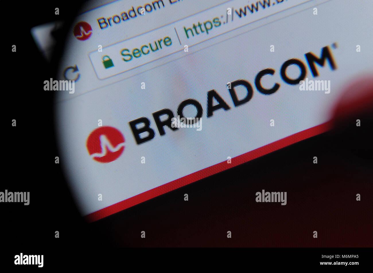 Broadcom Stock Photo: 176248189 - Alamy
