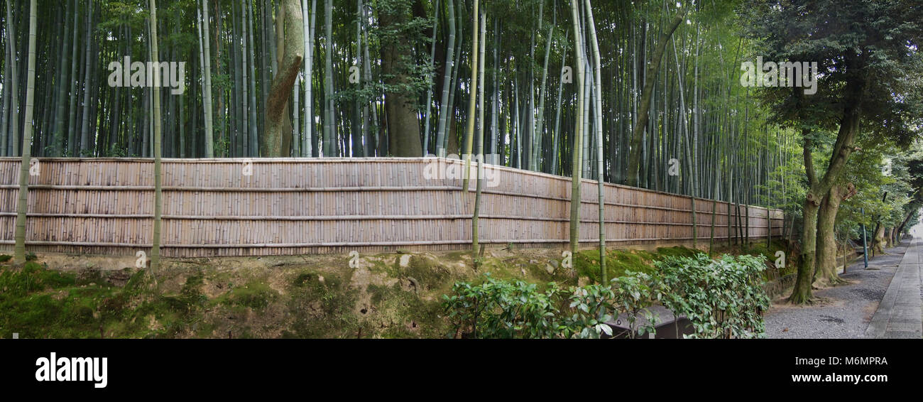 Ancient Buddhist temple in Kyoto - Stock Image