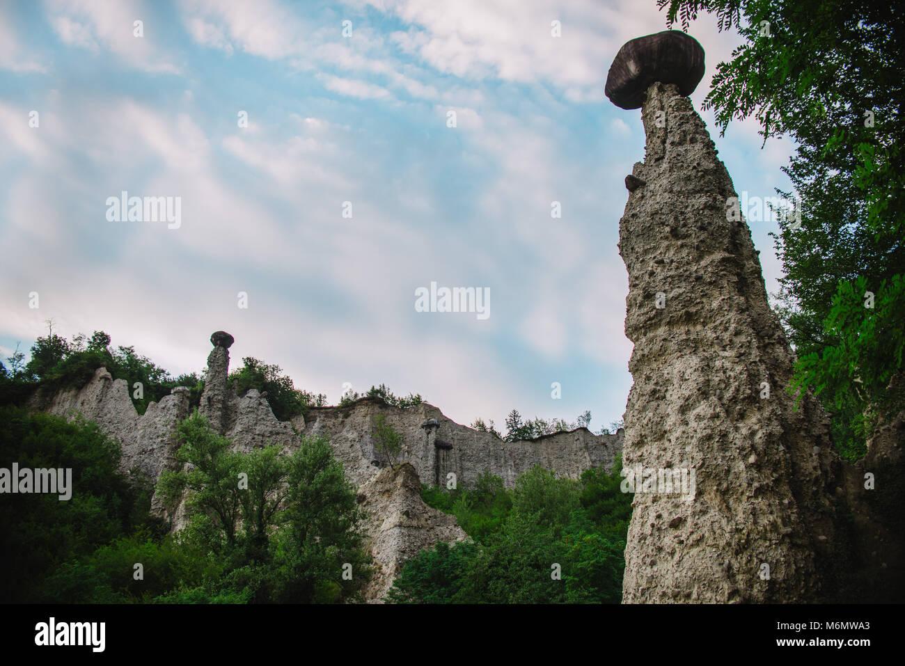 Piramide Zone in Italy, Lake Iseo - Stock Image