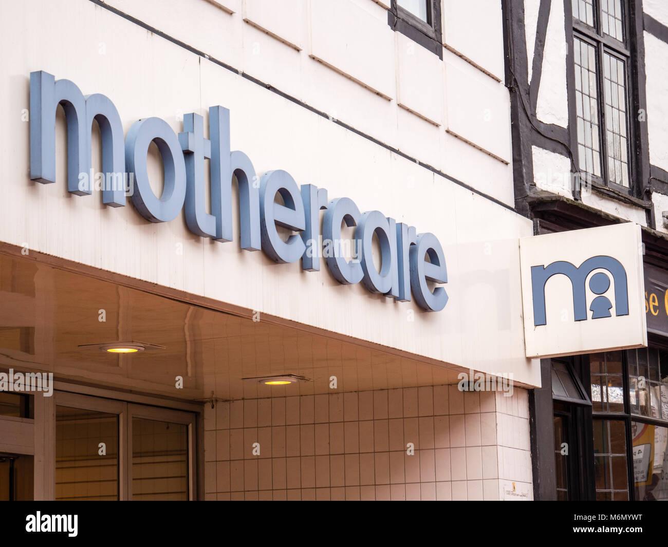 Mothercare, Reading, Berkshire, England. - Stock Image