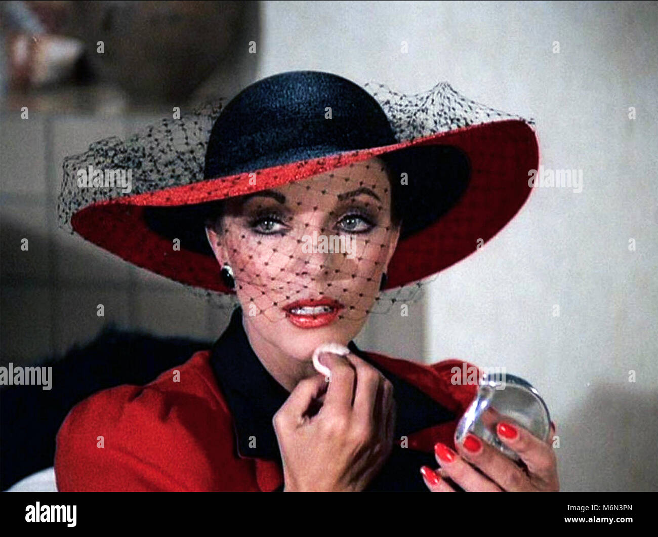 DYNASTY CBS TV series 1981-1989 with Joan Collins as Alexis Carrington - Stock Image
