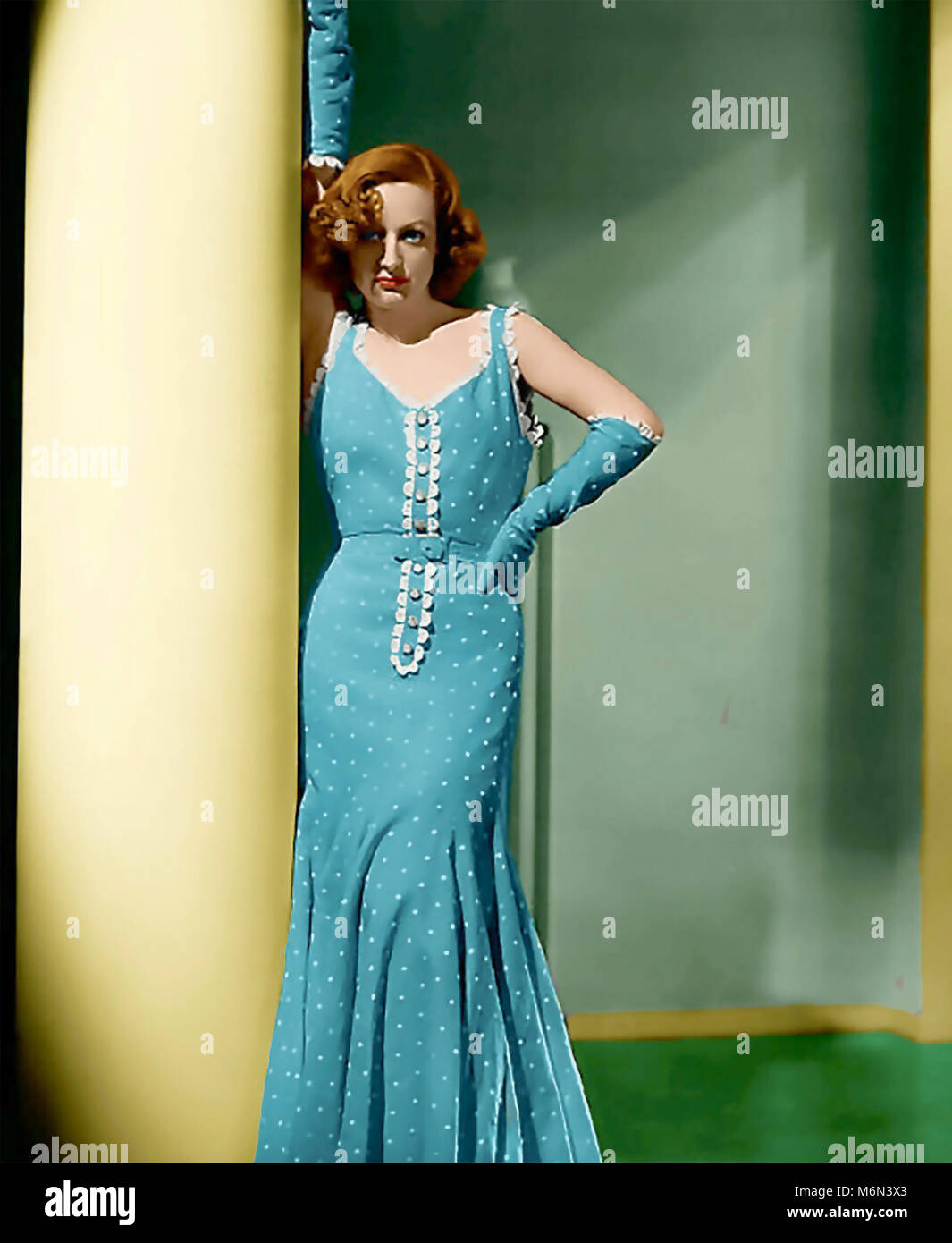 JOAN CRAWFORD (1904-1977) American film actress about 1938 - Stock Image