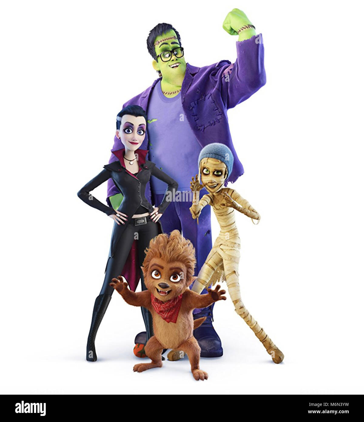 MONSTER FAMILY (aka Happy Family) 2017 Warner Bros/Attitude Film Distribution production - Stock Image