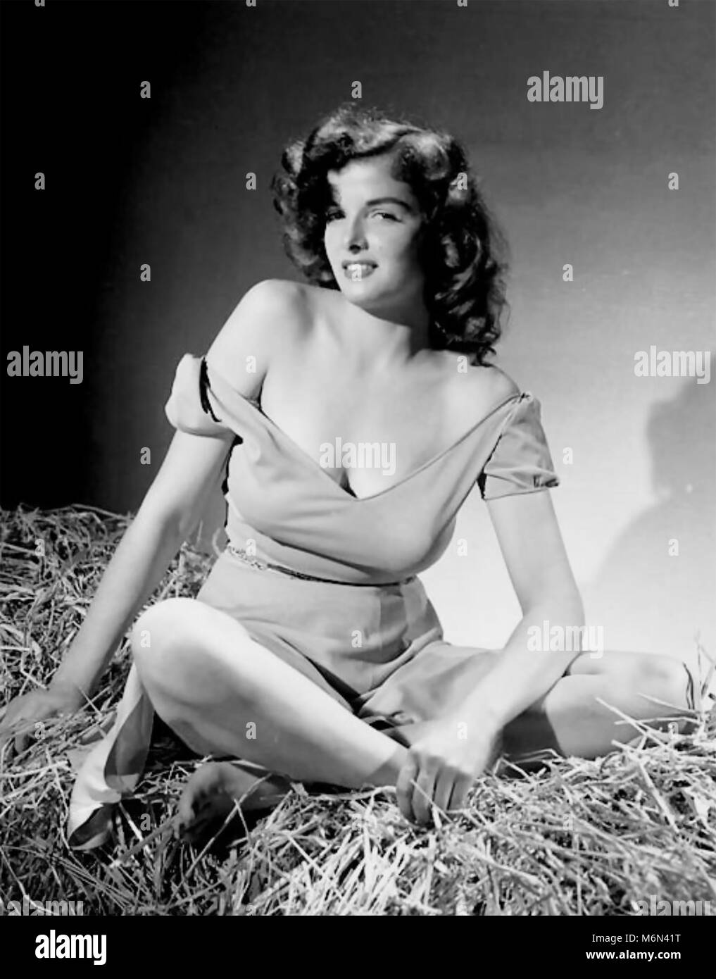 THE OUTLAW 1943 United Artists film with Jane Russell - Stock Image