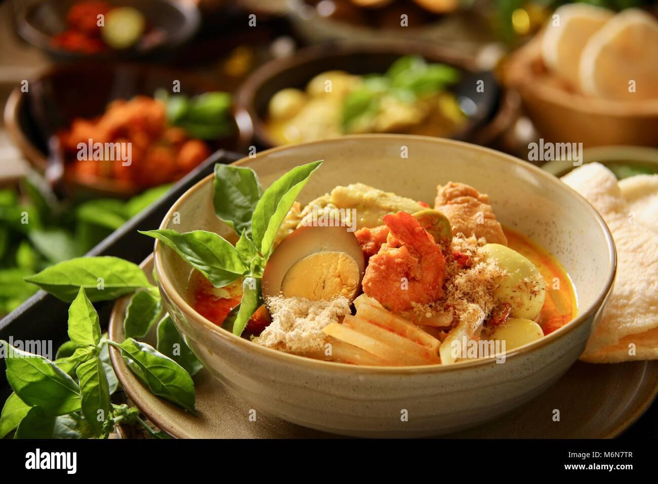 Lontong Cap Go Meh  The Javanese-Peranakan Rice Cake Soup
