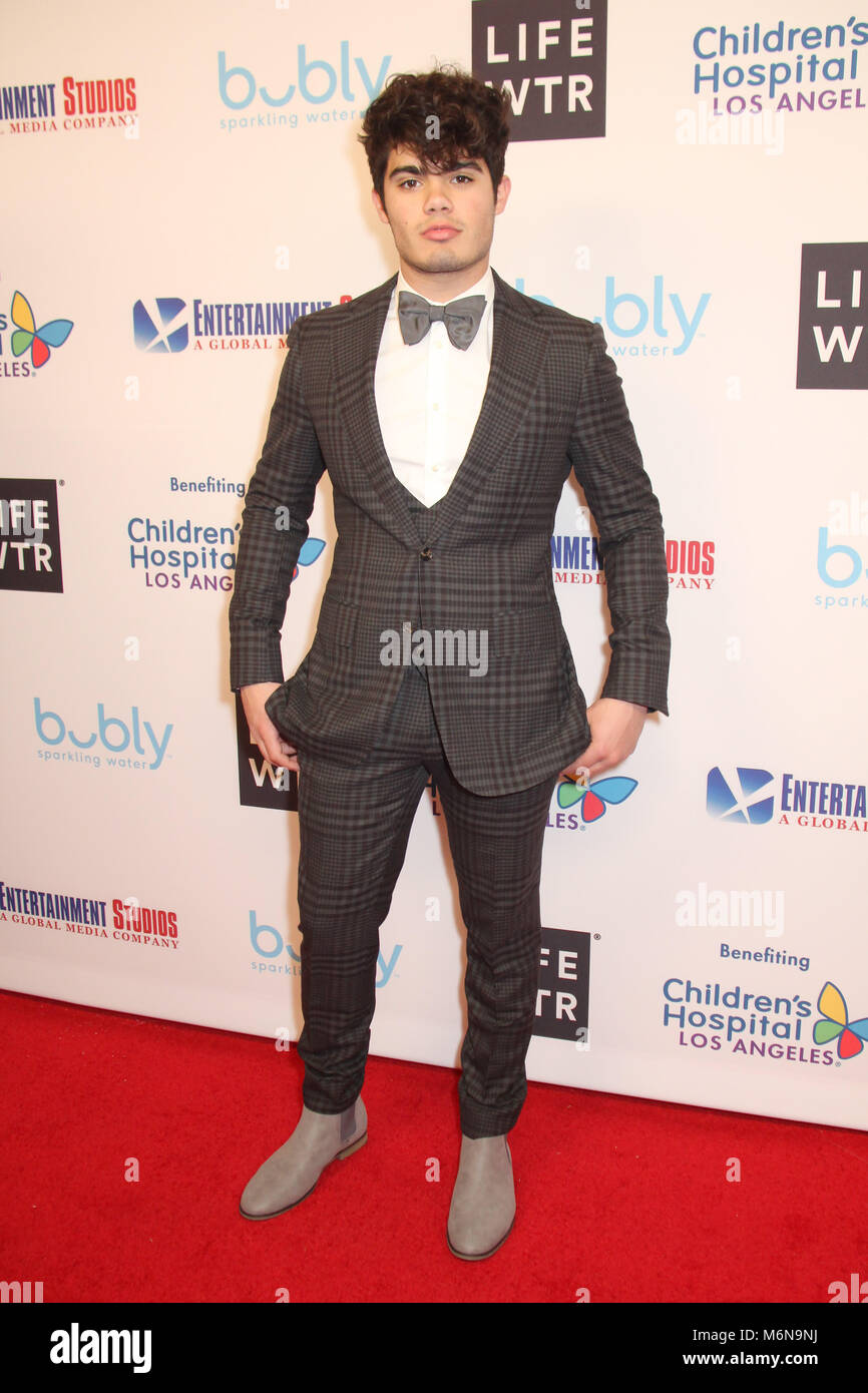Emery Kelly  03/04/2018 Second Annual Entertainment Studios Oscar Gala held at Beverly Wilshire Hotel in Beverly - Stock Image
