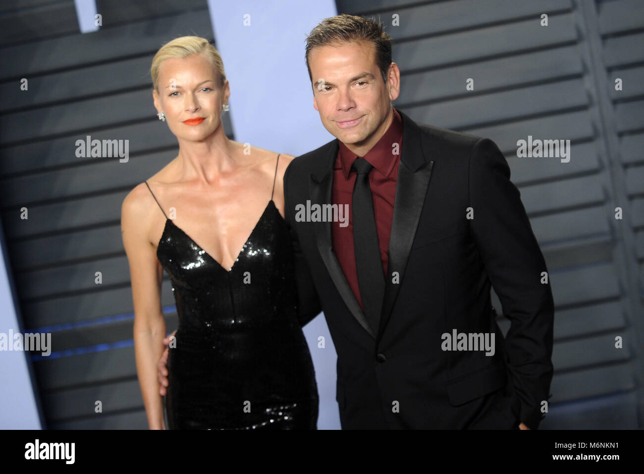 Sarah Murdoch And Lachlan Murdoch Attending The 2018 Vanity Fair Stock  Photo: 176268093   Alamy
