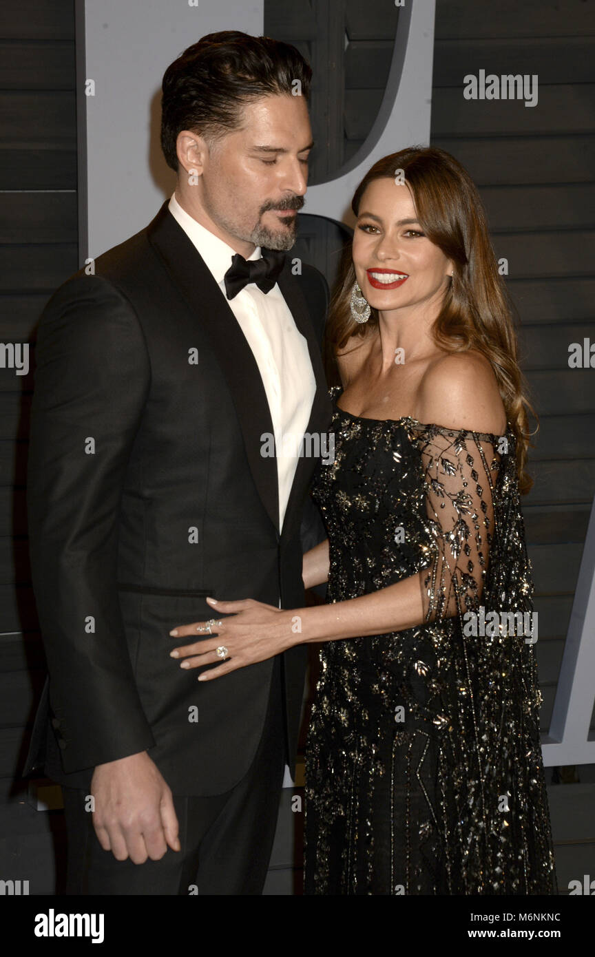 Joe Manganiello And Sofia Vergara Attending The 2018 Vanity Fair Stock  Photo: 176268104   Alamy