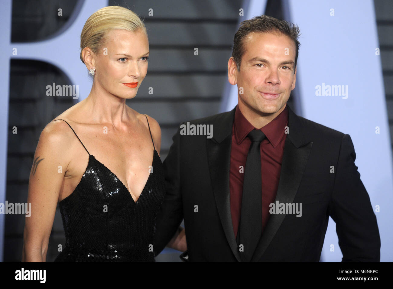 Sarah Murdoch And Lachlan Murdoch Attending The 2018 Vanity Fair Stock  Photo: 176268132   Alamy